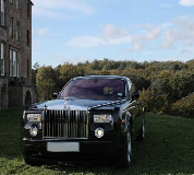 Rolls Royce Phantom - Black Hire in UK